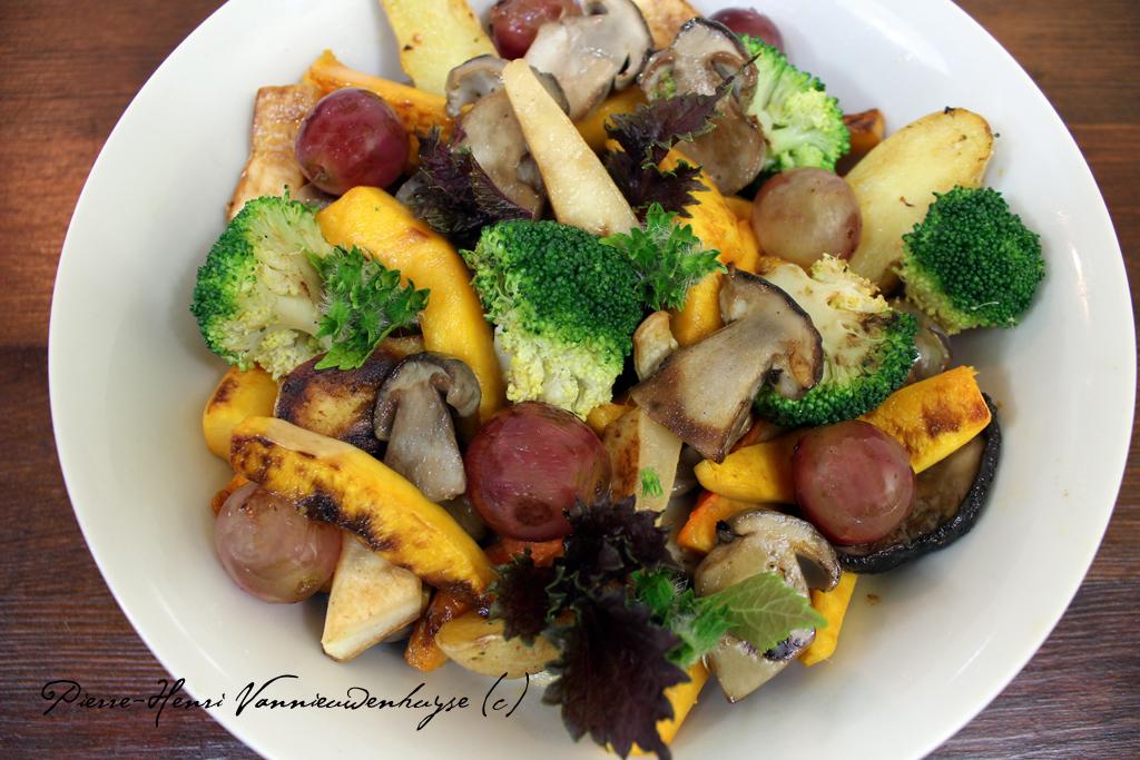 Cuisson des légumes à la plancha - Recettes et Cuisine à