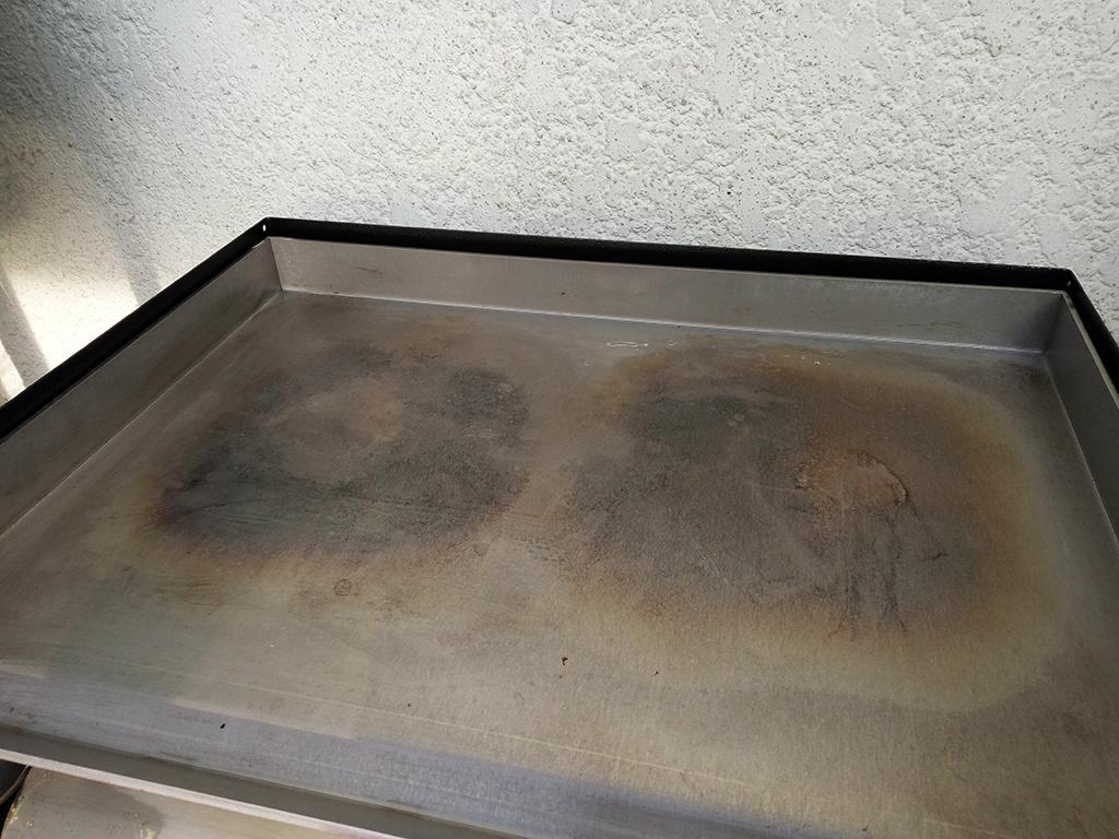 Enlever Rouille Sur Plancha En Fonte nettoyage d'une plancha en acier inoxydable - recettes et