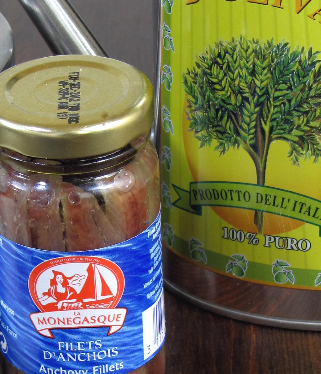 Anchoïade - Recettes et Cuisine à la plancha
